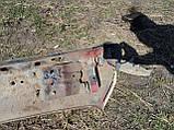 Б/У задний бампер мазда 626 GC 1983-1987, фото 2