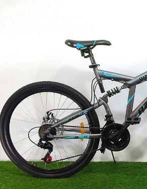"""Велосипед горный двухподвесный Dinamic 26"""", рама 18,5"""", FRD GREY, фото 2"""