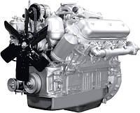 Двигатель ЯМЗ 236М2 (МАЗ) в сб. без КПП и сцепл. (пр-во ЯМЗ), 236М2-1000186