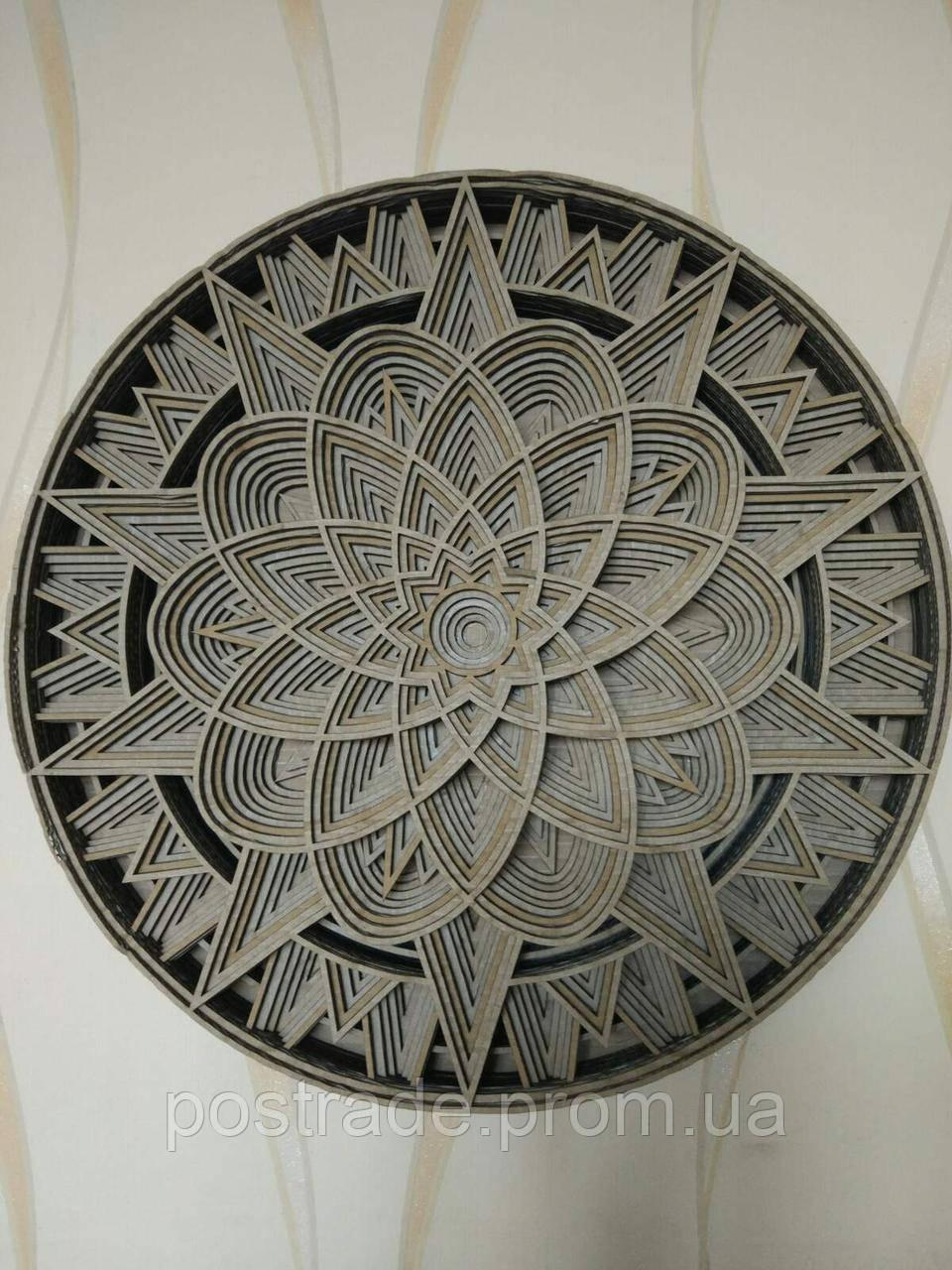 Панно настенное декоративное 3D. Объемная картина