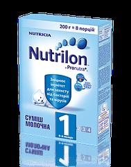 Суміш молочна суха Nutrilon 1 для дітей від 0 до 6 місяців 200 гр.
