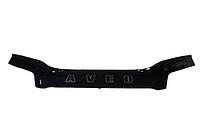 Дефлектор капота Chevrolet Aveo з 2003-2006(седан) з 2003-2008 (х/б) р. в. віп тюнінг, Vip Tuning, фото 1