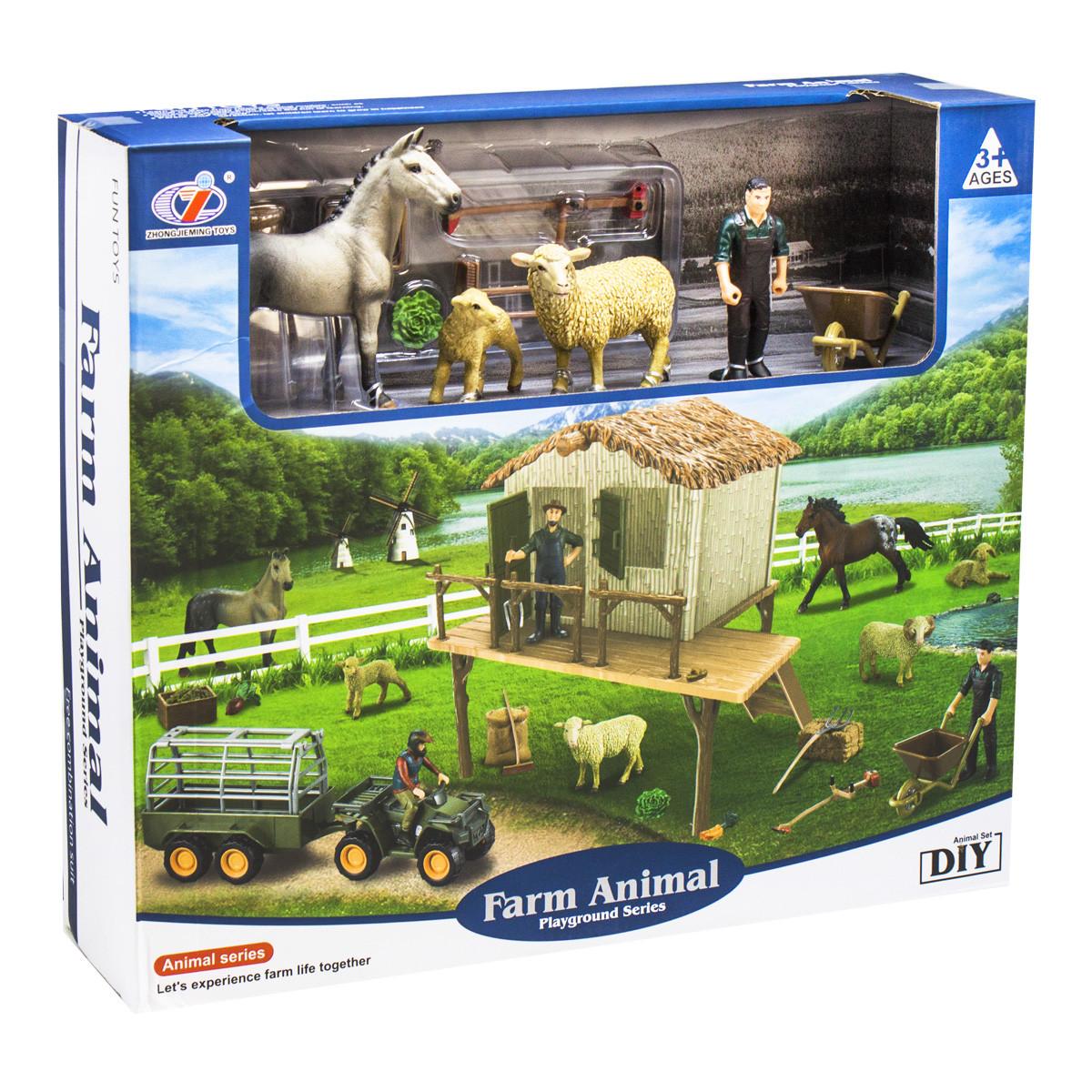 Ферма с фигурками Farm Animals