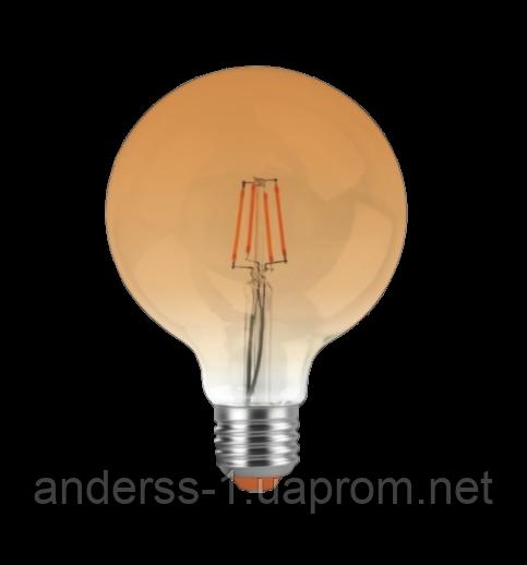 Світлодіодна лампа EGE LED Filament 6W А (G125)