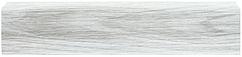 Плинтус Dekor Plast LL005 Ясень Шимо Светый пластиковый, напольный, с кабель каналом, плинтус двухсоставной