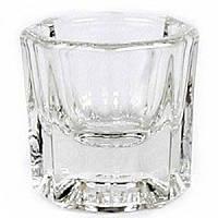 Стеклянная (емкость) стаканчик для смешивания красок D35мм