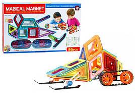 Магнитный конструктор Magical Magnet 56 деталей XINBIDA