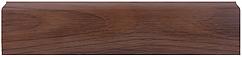 Плинтус Dekor Plast LL019 Орех Шоколадный пластиковый, напольный, с кабель каналом, плинтус из двух частей