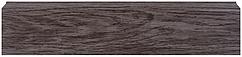 Плинтус Dekor Plast LL022 Трюфель пластиковый, напольный, плинтус с кабель каналом, плинтус из двух частей