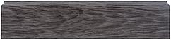 Плинтус Dekor Plast LL023 Граб Темный пластиковый, напольный, плинтус с кабель каналом, плинтус из двух частей