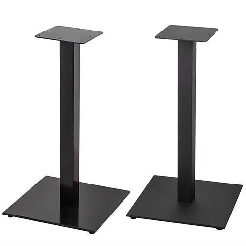 """Черные опоры из металла """"UNO"""" ножки для столика в кафе бар"""