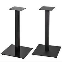 """Черные опоры из металла """"UNO"""" ножки для столика в кафе бар, фото 1"""
