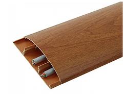Наличник 331 Кемпас 70 мм з кабель каналом Ідеал,прихований монтаж, напівкруглий наличник пластиковий Ideal