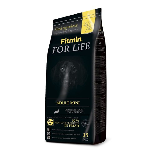 Fitmin For Life Adult Mini 3 кг. Корм для взрослых собак мелких пород
