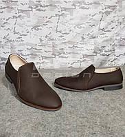 Туфли мужские кожа коричневые, фото 1