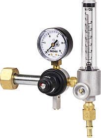 Регулятор расхода газа малогабаритный комбинированный (углекислотный/аргоновый) У-30/АР-40-КР1-м-Р1 (Латвия)