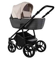 Универсальная коляска Baby-Merc La Noche 2в1 (LN/01B) Розово-серая