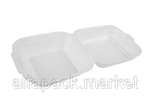 Ланч бокс из вспененного полистирола(мини сендвич) 130*143*60 (250 шт в упаковке)