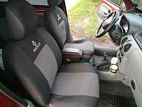 Чехлы на сиденья АВ-Текс Renault Logan Sedan (цельный) с 2013 г