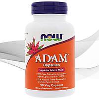 Витамины и минералы Now Foods  ADAM Male Multi 90 мягких капсул