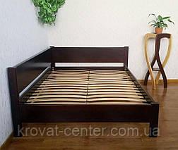"""Односпальная кровать из массива дерева """"Шанталь"""" (80/90 х 190/200) от производителя, фото 2"""