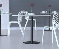 """Круглые металлические опоры """"UNO"""" ножки для стола в кафе, фото 1"""