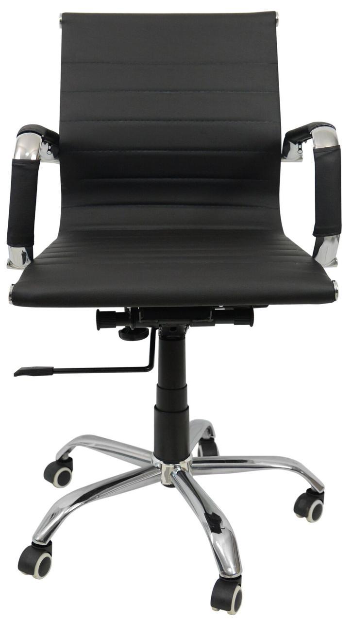 Крісло B-605. Черное, серое, белое