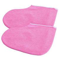 Шкарпетки для парафінотерапії рожеві
