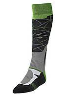 Шкарпетки лижні Spaio Ski Merino 44-46 Black-Grey-Green SKL35-239104