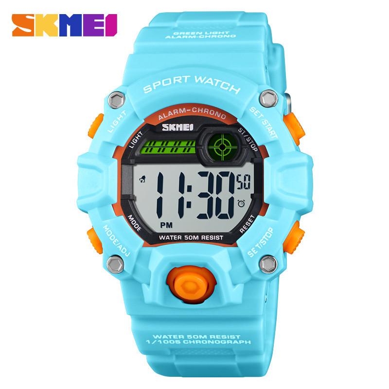 Skmei 1484 светло синие детские спортивные часы