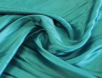 Подкладочная ткань бирюзово голубая G 445