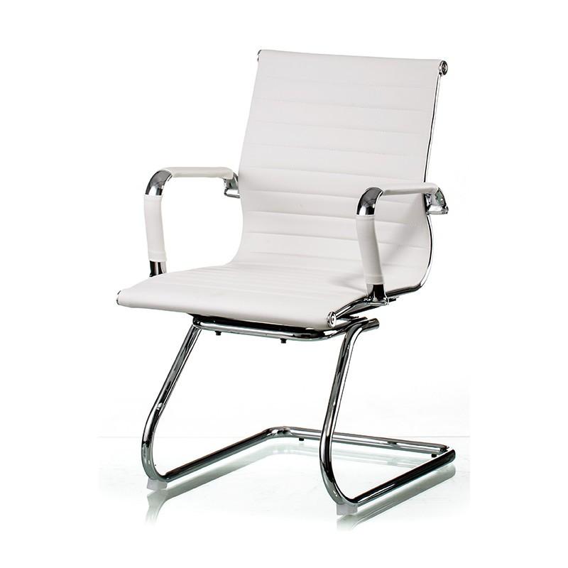 Крісло офісне Special4You Solano office artleather white (E5876)