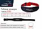 Пояс для важкої атлетики PowerPlay 5085 Чорно-Червоний XL, фото 8