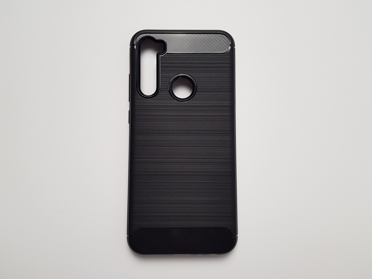Чехол бампер Carbon Fiber для Xiaomi Redmi Note 8T