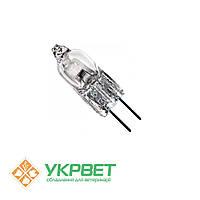 Лампа галогенная к микроскопу 6 В, 20 Вт (цоколь G 4)