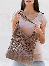 Перевод описания вязания эко-сумки