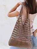 Перевод описания вязания эко-сумки, фото 4