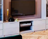 Тумба под телевизор ТВ Рома Белый глянец, фото 1