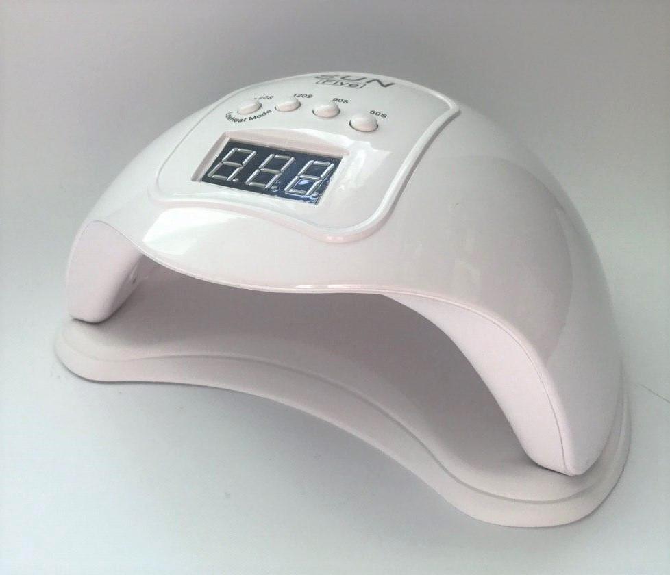 Лампа SUN 5 USB White 48W UV/LED для полимеризации для сушки гель лака