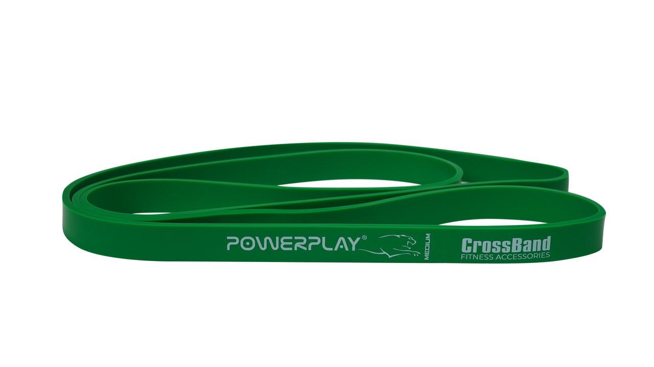 Резина для тренировок PowerPlay 4115 Green(16-32kg)