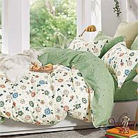Комплект постельного белья сатин 423 Viluta Евро, фото 1