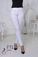 Джеггінси жіночі білого кольору 072/08, фото 1