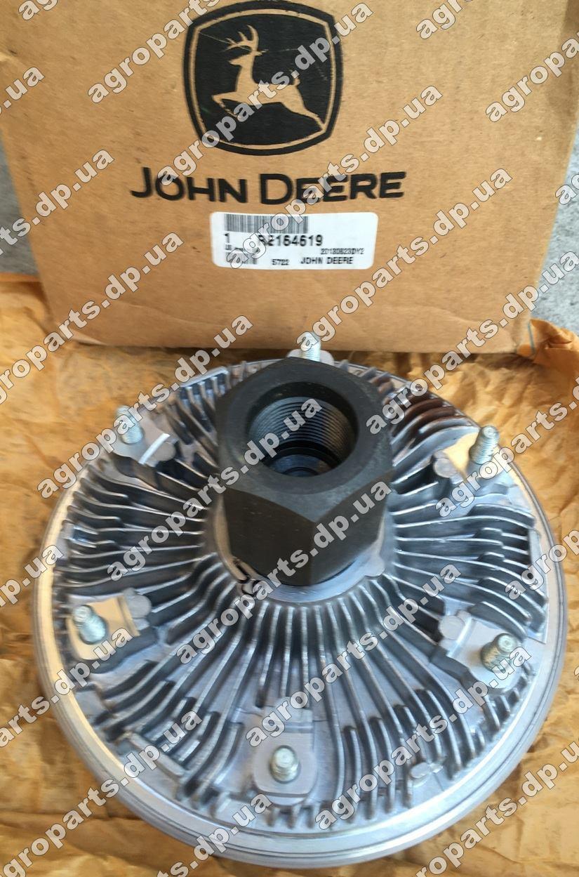 Термомуфта RE164619 John Deere Viscous Fan Drive запчасти вискомуфта re164619