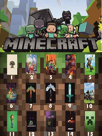 Чехол силиконовый Minecraft для всех моделей iPhone, фото 2