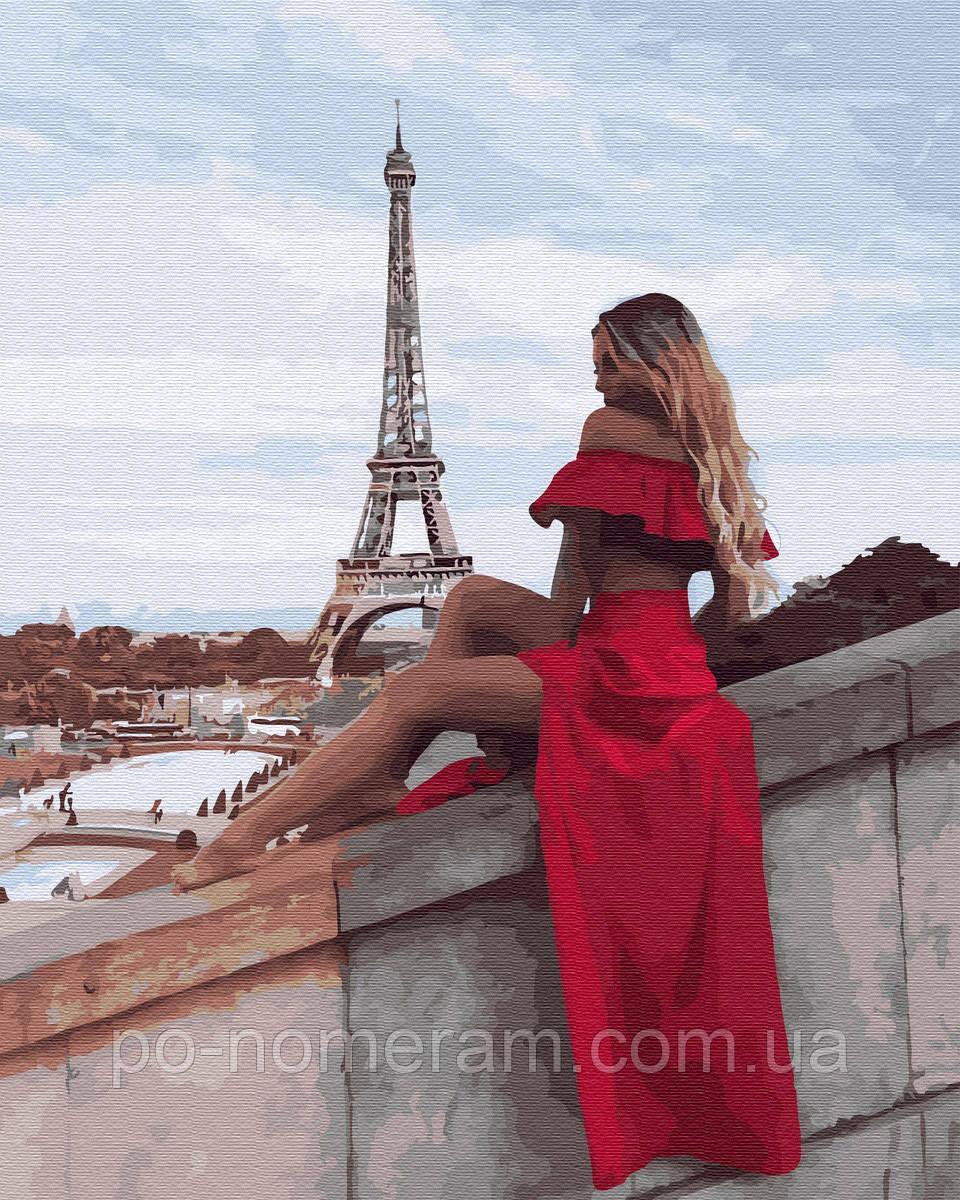 Раскраска для взрослых Путишествие в Париж (BK-GX34554) 40 ...