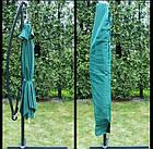 Садова парасоля з боковою стійкою для літнього майданчика Desco 250х250 см, фото 8