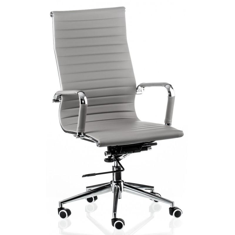 Крісло офісне Special4You Solano artleather grey (E4879)