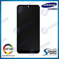 Дисплей на Samsung A01 Galaxy A015 Чёрный(Black),GH81-18209A , SERVICE ORIGINAL!