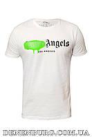 Футболка мужская PALM ANGELS 20-1065 белая, фото 1