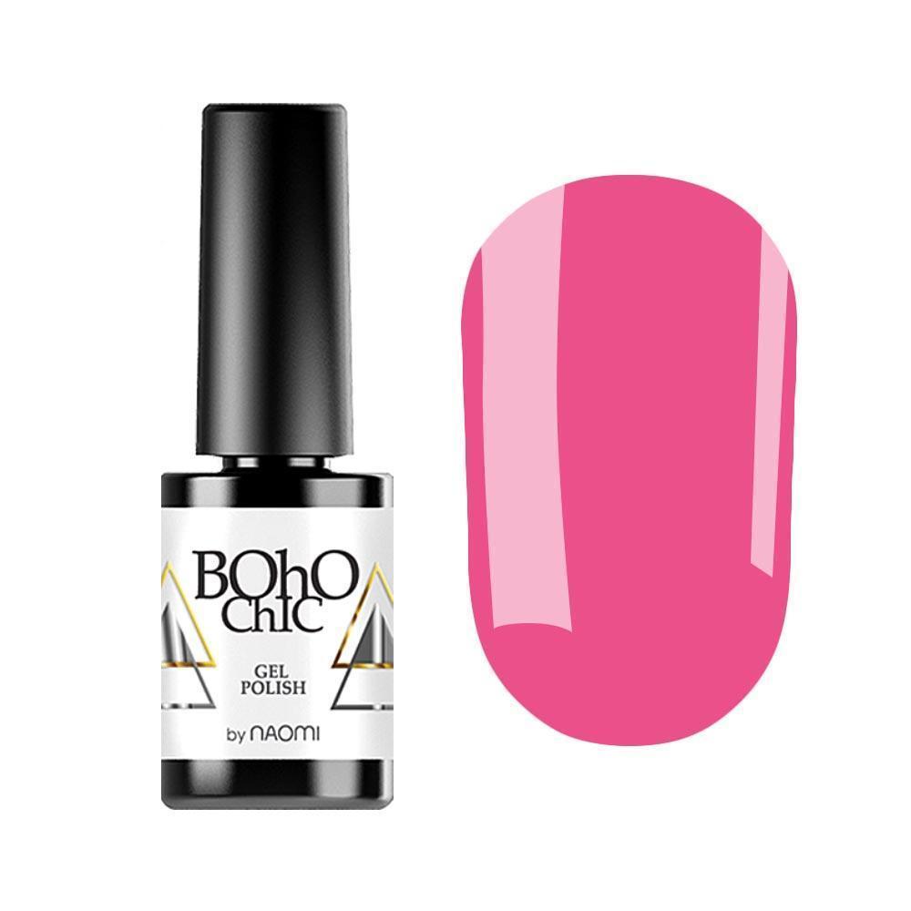 Гель-лак для ногтей  Naomi Boho Chic BC217 Розовый, 6мл